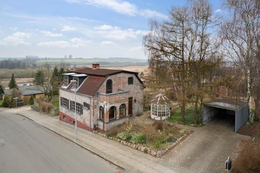 Villa på Voldgade i Horsens - Set fra vejen