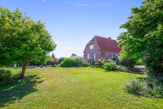 Villa på Bjerrevej i Horsens - Set fra haven
