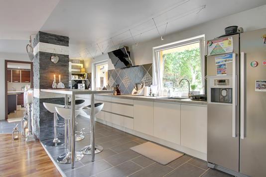 Villa på Nyvangen i Horsens - Køkken