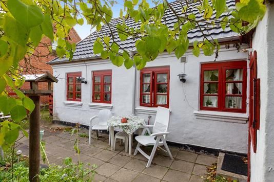Villa på Storegade i Østbirk - Terrasse