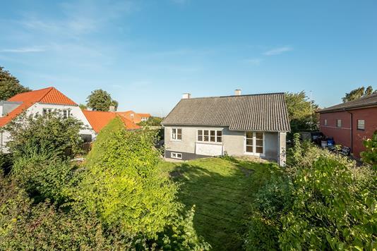 Villa på Hedenstedvej i Stenderup - Set fra haven