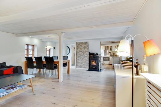 Villa på Hornumvej i Hornsyld - Stue