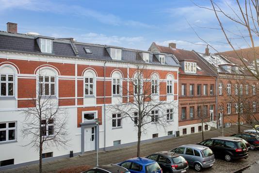 Ejerlejlighed på Svanes Plads i Horsens - Facade