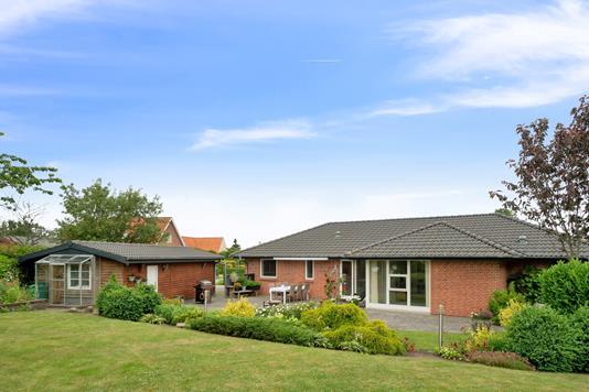 Villa på Søndergade i Hornsyld - Set fra haven