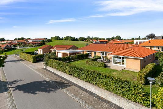 Villa på Bavnehøjvej i Horsens - Set fra vejen
