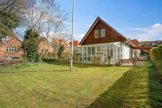 Villa på Thyrasgade i Horsens - Set fra haven