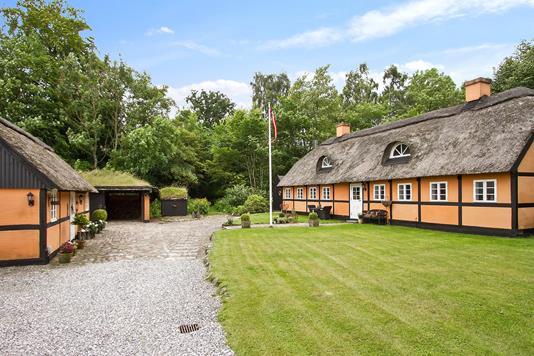 Villa på Druestrupvej i Bjæverskov - Set fra vejen