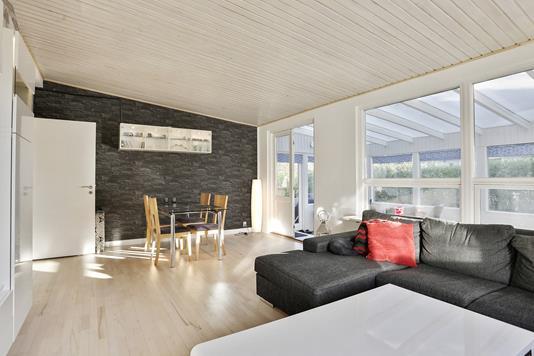 Villa på Ahornvej i Lille Skensved - Stue