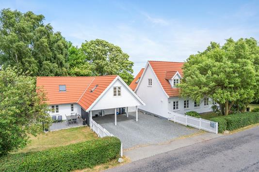 Villa på Skovbovej i Hårlev - Område