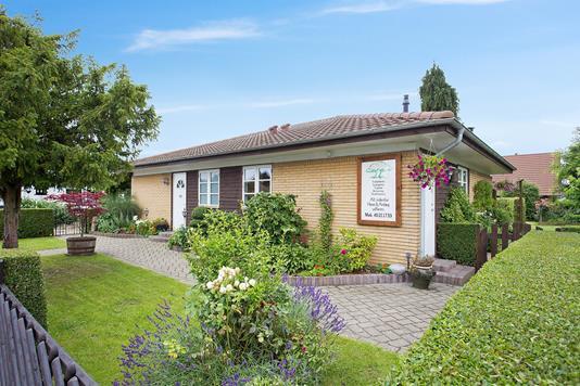 Villa på Østgade i Hårlev - Ejendommen
