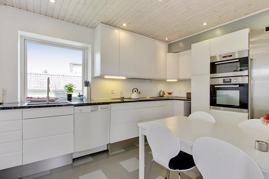 Villa på Norgesvej i Køge - Køkken