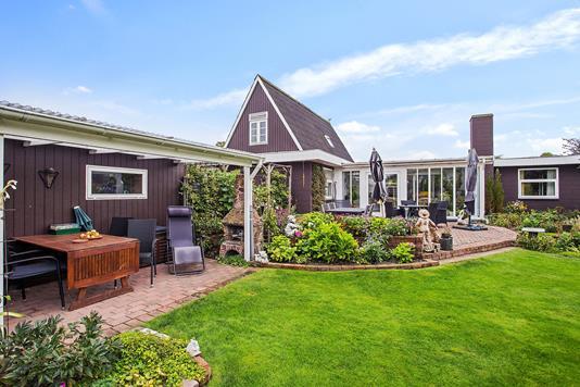 Villa på Smedevej i Køge - Set fra haven