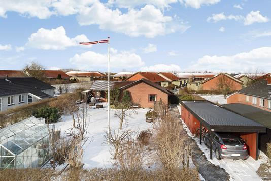 Villa på Egevej i Hårlev - Ejendommen