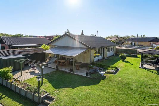 Villa på Dunhammervej i Køge - Have