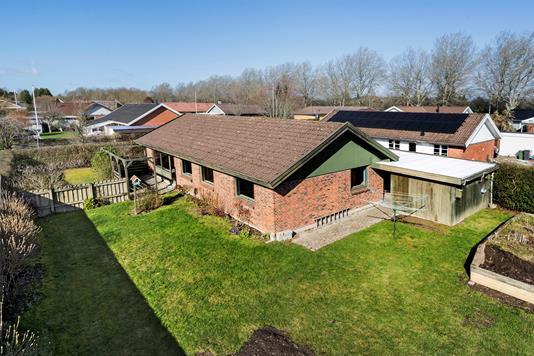 Villa på Høvlingebanken i Herfølge - Ejendommen