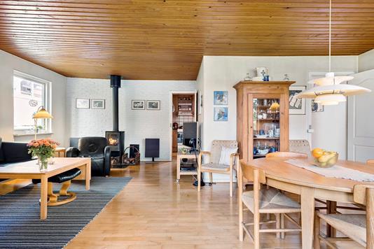 Villa på Lokesvej i Køge - Stue