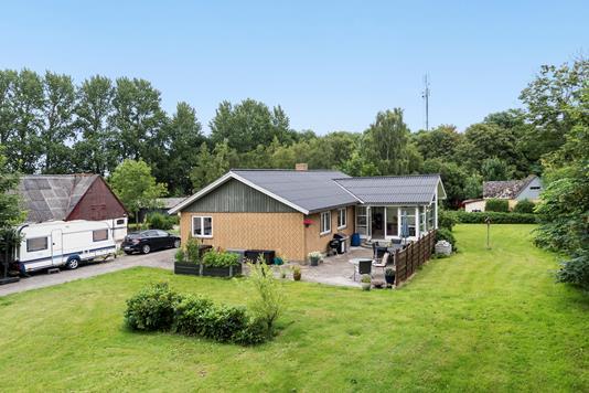 Villa på Holmen i Klippinge - Ejendommen