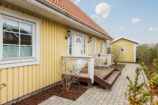 Villa på Kastaniegårdsvej i Lille Skensved - Terrasse