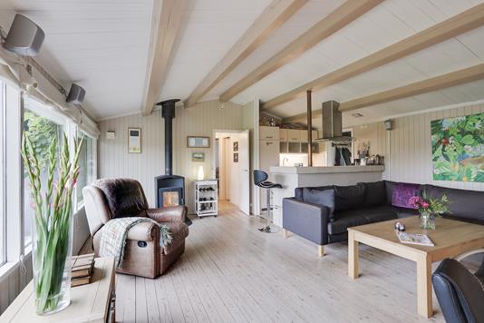 Villa på Troldpilevej i Køge - Stue