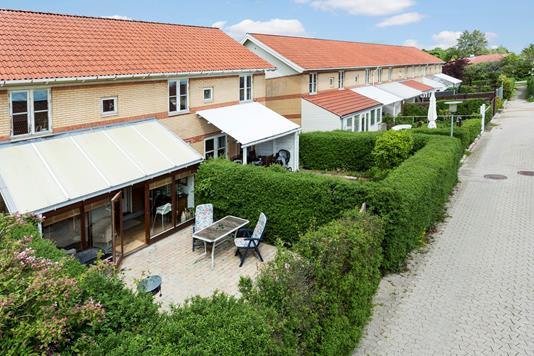 Villa på Hejrebanken i Herfølge - Ejendommen
