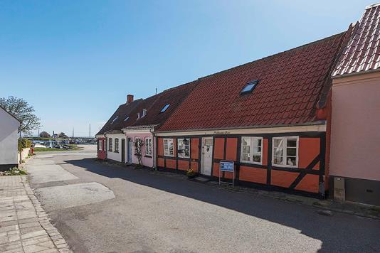 Villa på Snaregade i Marstal - Ejendommen