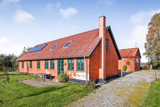 Villa på Høje Dong i Stenstrup - Ejendommen
