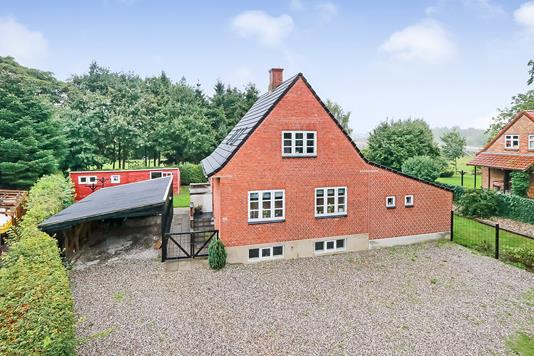 Villa på Nyborgvej i Skårup Fyn - Ejendommen