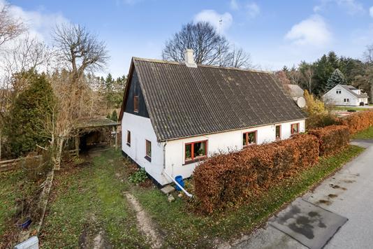 Villa på Bolbrovej i Vejstrup - Ejendommen