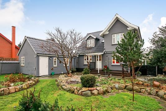 Villa på Østergade i Skårup Fyn - Have