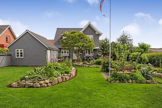 Villa på Østergade i Skårup Fyn - Ejendommen