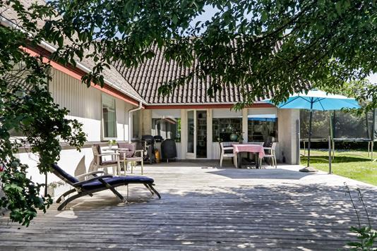 Villa på Agerbakken i Vester Skerninge - Terrasse