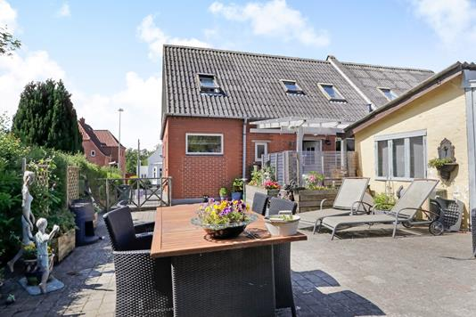 Rækkehus på Nyborgvej i Svendborg - Terrasse