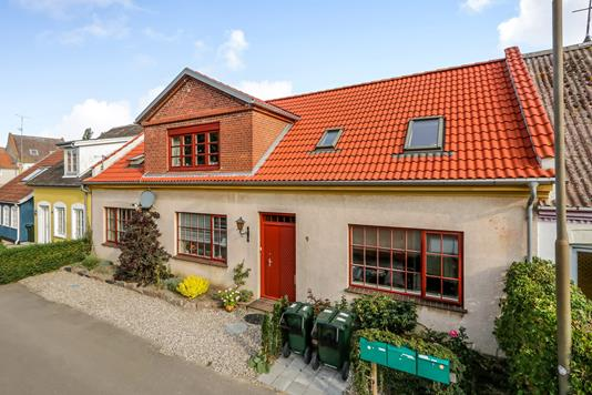Villa på Reberbanen i Rudkøbing - Ejendommen