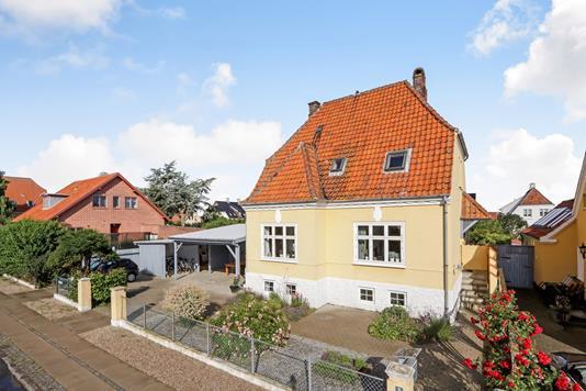 Villa på Lindevej i Rudkøbing - Ejendommen