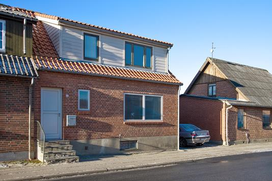 Villa på Kirkegade i Lem St - Facade