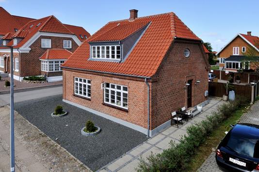 Villa på St Blichers Vej i Ringkøbing - Ejendommen