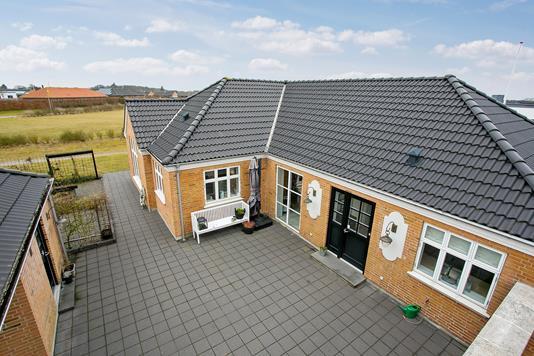 Villa på Majsmarken i Ringkøbing - Ejendommen