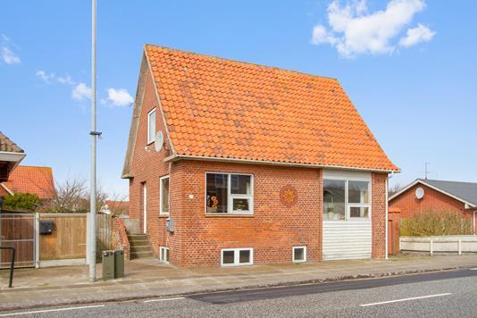 Villa på Nørregade i Hvide Sande - Set fra vejen