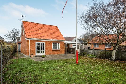 Villa på Kærvej i Lem St - Ejendommen