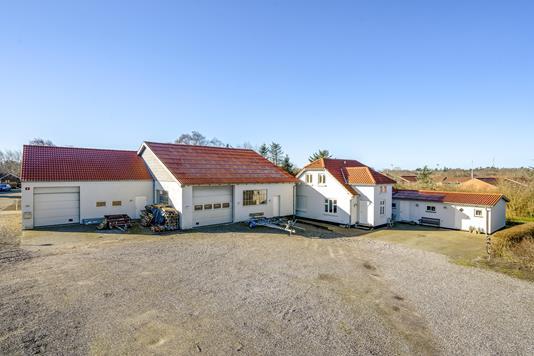 Villa på Møllegade i Tim - Ejendommen