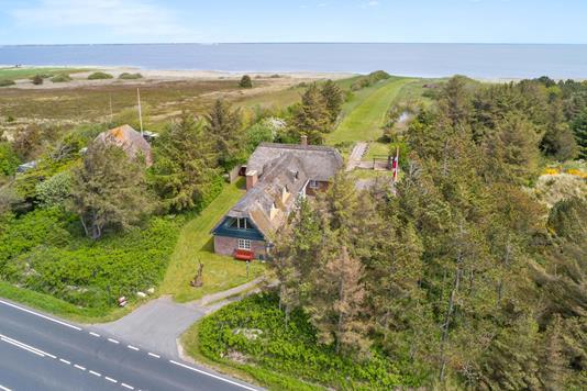 Villa på Holmsland Klitvej i Hvide Sande - Luftfoto