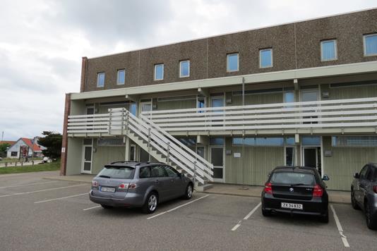 Fritidsbolig på Lodbergsvej i Ringkøbing - Facade