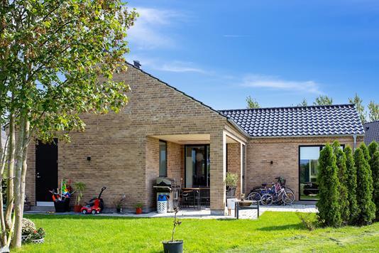 Villa på Bygaden i Taastrup - Set fra haven