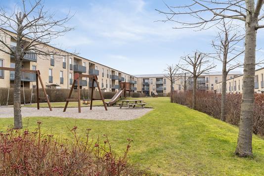 Rækkehus på Skjeberg Alle i Taastrup - Gårdmiljø
