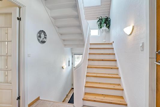 Villa på Tyvedalsgade i Nibe - Entré