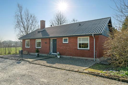 Villa på Vestervang i Hadsund - Ejendommen