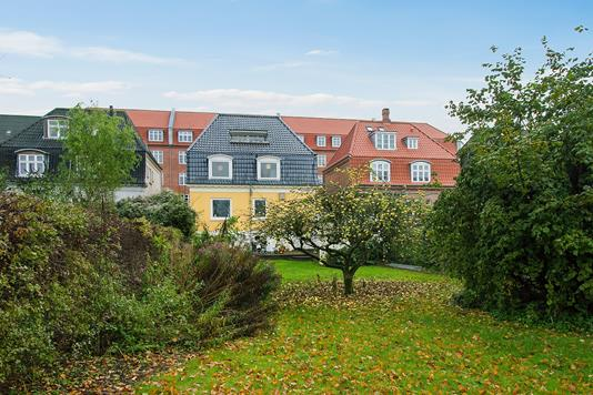 Villa på Schleppegrellsgade i Aalborg - Set fra haven