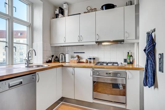 Ejerlejlighed på Østerbro i Aalborg - Køkken