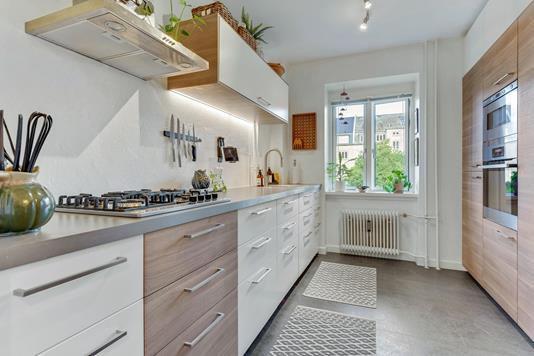 Ejerlejlighed på Ivar Huitfeldts Gade i Aalborg - Køkken