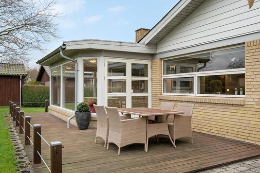 Villa på Lannerparken i Aalborg SV - Terrasse